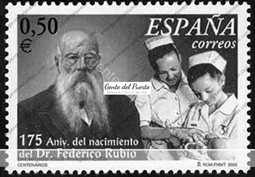 3.724. Federico Rubio y Galí. 191 años de su bautismo portuense