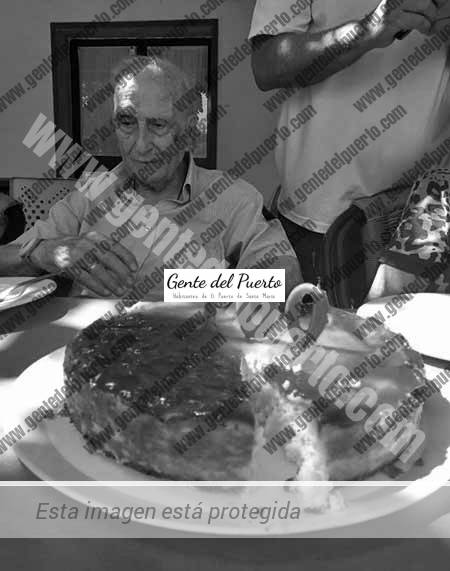 3.740. Antonio Micó Pastor. El coronel cumple 100 años