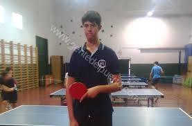 3.743. Ceferino Gómez Lomas. Campeón de Andalucía de Tenis de Mesa