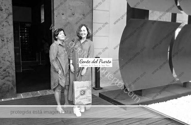 3.804. Lola Caballero y Aurora Simó. Exposición 'Nuestro Entorno' en Aponiente