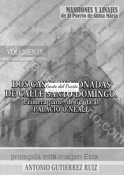 3.795. El Palacio O'Neale. Nuevo libro de Antonio Gutiérrez, de la serie 'Mansiones y Linajes'