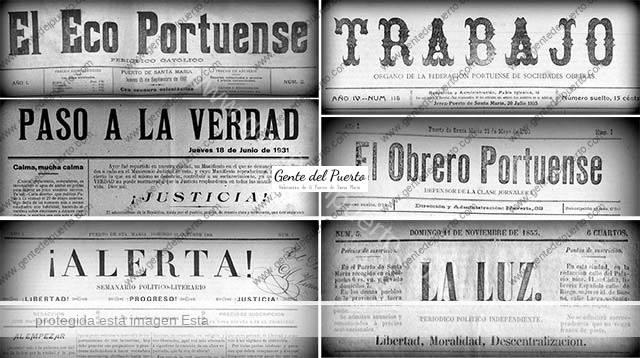 3.808. Los 50 periódicos que leían los portuenses a finales del XIX y principios del XX