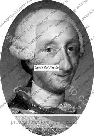 3.827. Carlos III. Un joven zangolotino de 13 años, visitó El Puerto en 1729, donde contempló por primera vez el mar