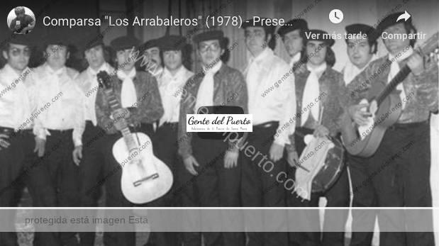 3.901. Comparsa 'Los Arrabaleros'. 2º Premio en el Concurso de Coplas en Cádiz. 1978