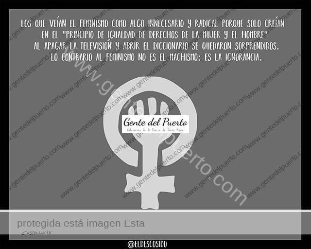 3.907. La viñeta de @ELDESCOSIDO. Feminismo ante el 8M