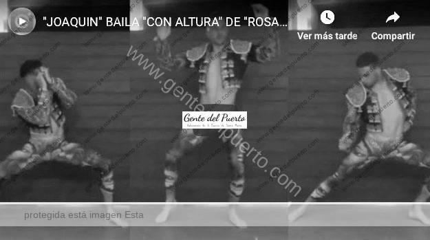 3.934. Joaquín la vuelve a liar bailando el nuevo videoclip de Rosalía