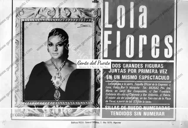 3.956. Lola Flores y Raphael, juntos en la Plaza de Toros en 1979