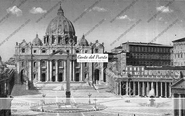 3.939. Obreros portuenses de peregrinación al Vaticano