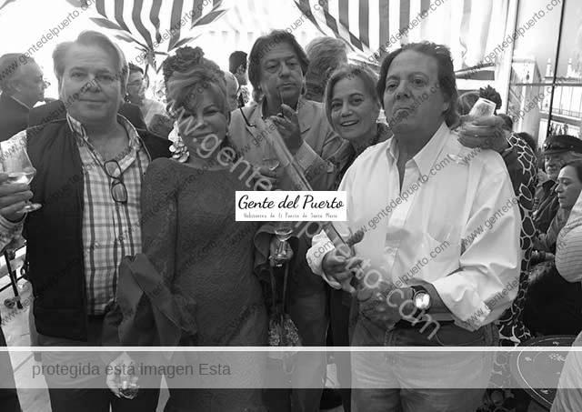 3.992. Llegó la Feria con su Velada a la caseta 'El Catavino Lloroso'