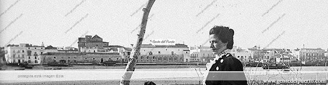 3.967. Skyline de El Puerto de Santa María, a finales del siglo XIX