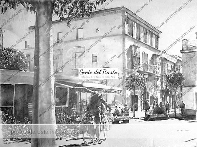 4.004. Plazas de El Puerto. XII Certamen de Dibujo 'Pepe Sánchez'