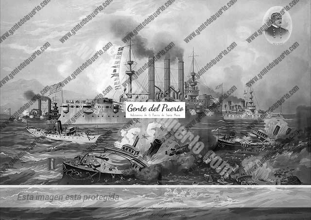 4.025. Pablo Scandella Beretta. El marino portuense que se mantuvo en pie de guerra con EEUU, tras la capitulación española