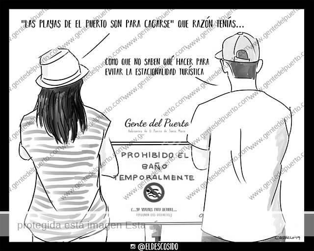 4.026. La viñeta de @ELDESCOSIDO. E.Coli, Currito y la Base