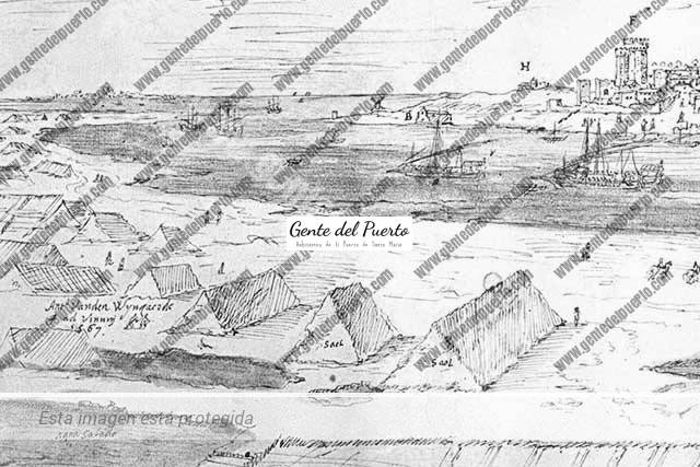 4.050. Las 80 salinas de agua en El Puerto. La sal en la antigüedad
