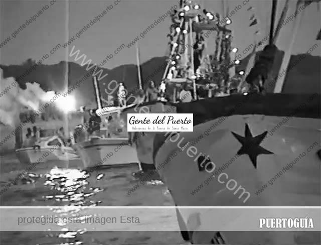 4.038. La procesión marítima de la Virgen del Carmen. 1994