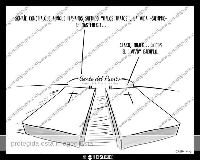 4.075. La viñeta de @ELDESCOSIDO. Violencia machista y concienciación