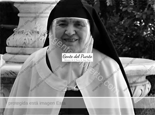 4.056. Josefa María Auxiliadora Muñoz López. Priora del Convento de las Carmelitas de Valencia