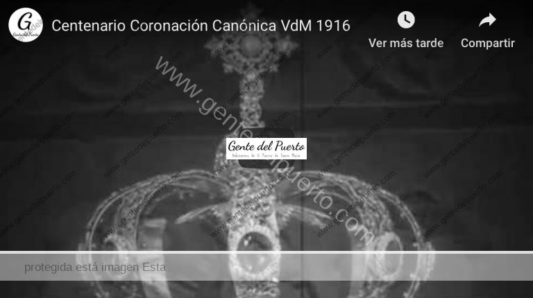 4.092. Recreación radiofónica de la Coronación Canónica de la Virgen de los Milagros en 1916