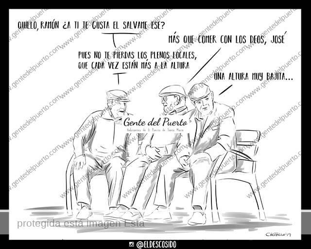 4.102. La viñeta de @ELDESCOSIDO. Un pleno más vergonzoso que ordinario