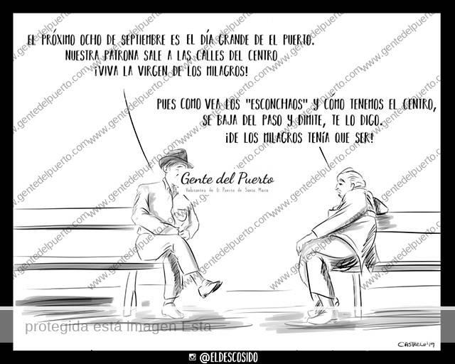 4.089. La Viñeta del @eldescosido. Los milagros de la Virgen