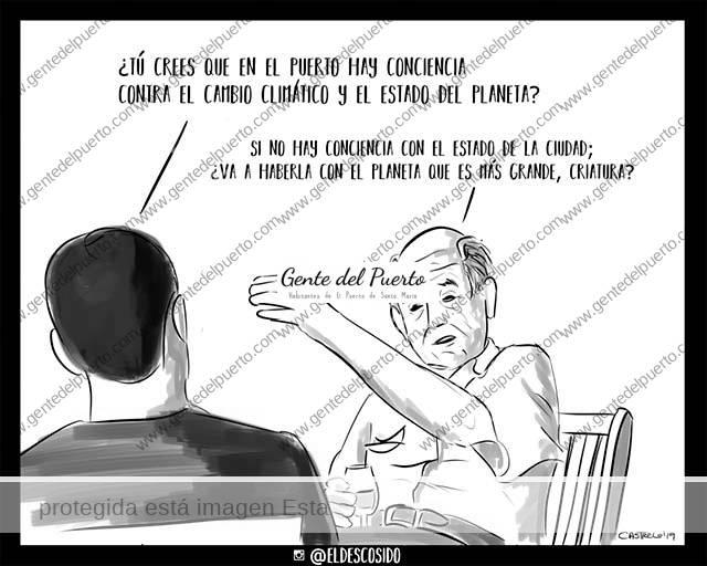 4.116. La viñeta de @ELDESCOSIDO. Cambio climático
