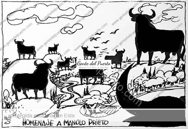 4.129. Cuando el toro de Manolo Prieto peligraba en las carreteras españolas.