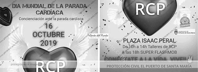 4.130. Los voluntarios de Protección Civil. Como salvar una vida, en el Día Mundial de la Parada Cardíaca