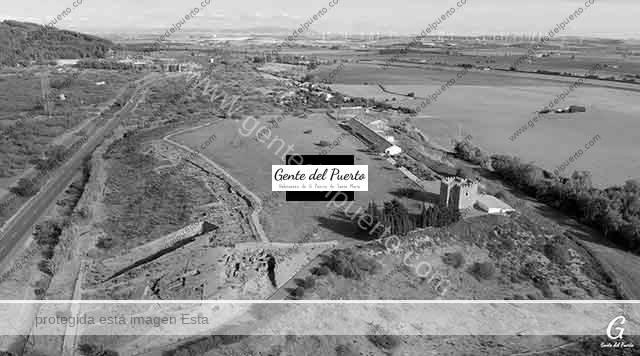 4.141. Yacimiento Arqueológico de Doña Blanca. Vistas Aéreas. (1)