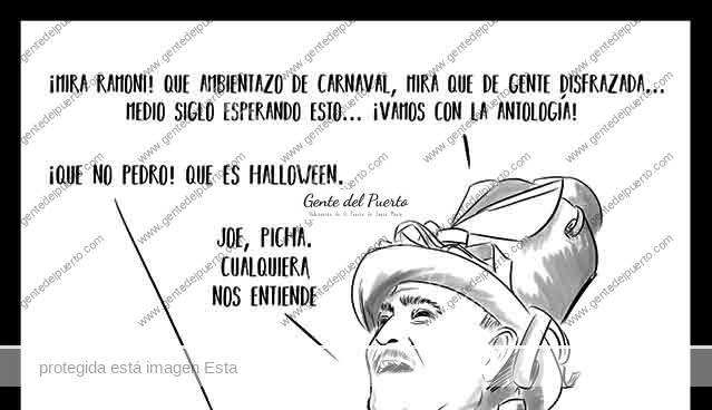 4.151. Las viñetas de @ELDESCOSIDO. Halloween y Carnaval. (Y Pozos Dulces)