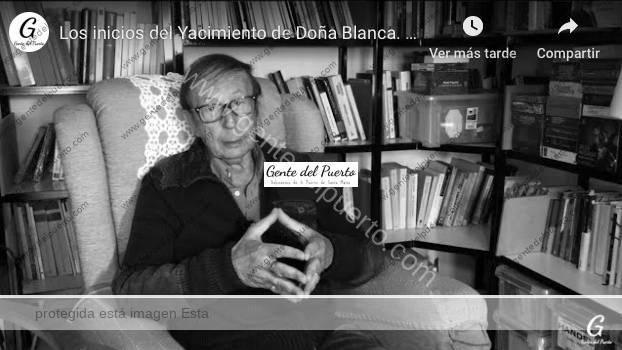 4.149. Los inicios del Yacimiento de Doña Blanca. Micro Historias de El Puerto (1)