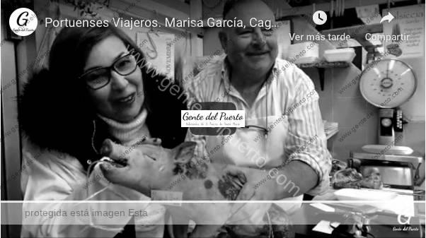 4.177. Marisa García, desde Cagliari (Cerdeña·Italia). Portuenses viajeros por el mundo (5)