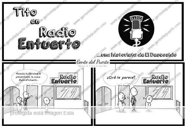 4.221. La Viñeta de @elDescosido. Una historieta de Radio Entuerto