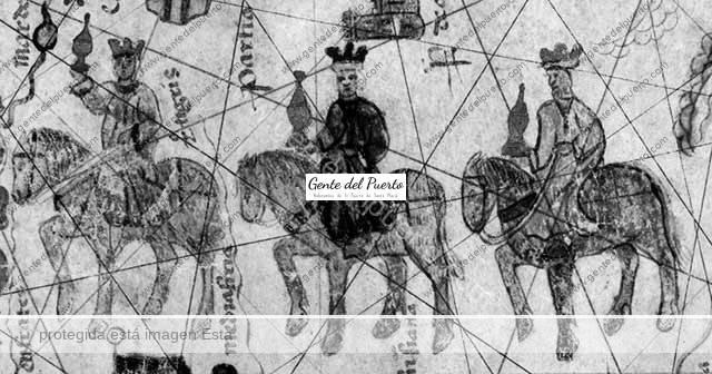4.212. Los Reyes Magos en las etiquetas de vinos y el Mapa de Juan de la Cosa