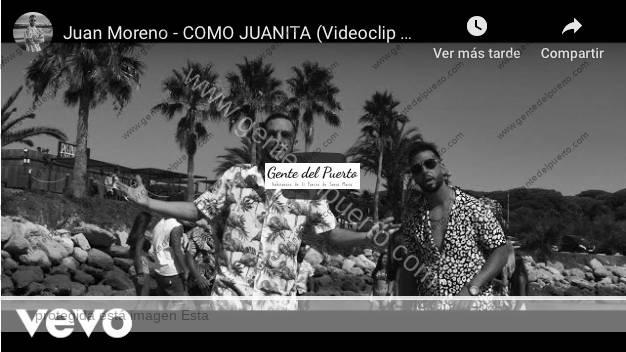 4.255. 'Como Juanita' videoclip grabado en las playas de El Puerto