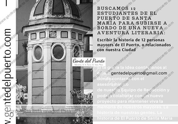 4.269. Gente del Puerto busca 12 estudiantes