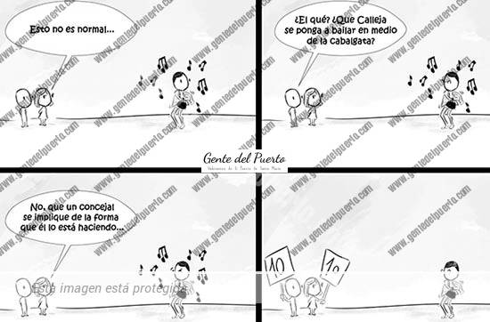4.270. La viñeta de @elDescosido. Calleja y el Carnaval