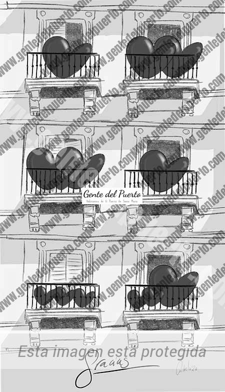 4.285. La viñeta de @elDescosido. Balcones orgullosos