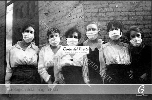 4.284. La Epidemia de Gripe en El Puerto en 1918. Como se enfrentaron los portuenses a la pandemia, hace un siglo.