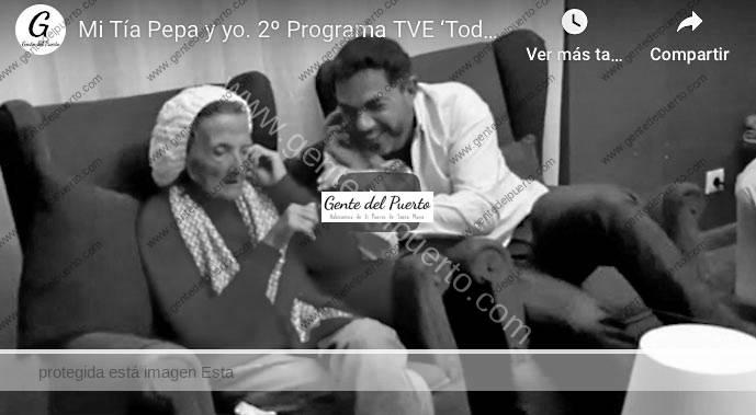 4.306. Mi Tía Pepa y yo. 2º Programa TVE 'Quédate en Casa'. Como se hizo