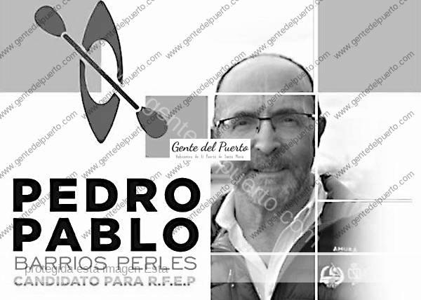 4.316. Pedro Pablo Barrios. Candidato a la presidencia de la Federación Española de Piragüismo