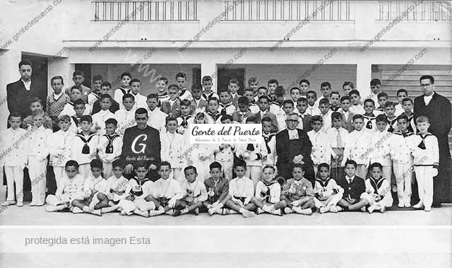 4.357. Primera Comunión en La Salle. 1961
