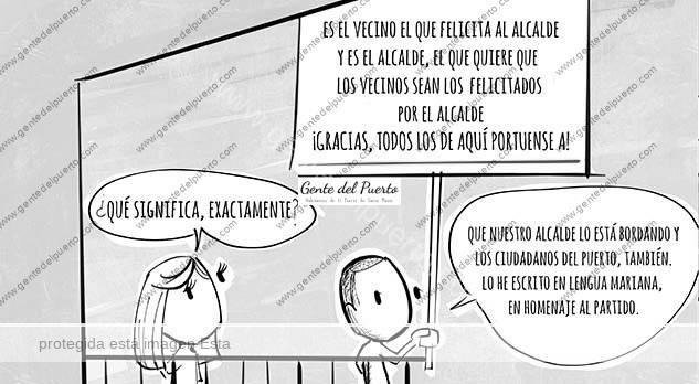4.334. La Viñeta de @elDescosido. El Puerto resiste