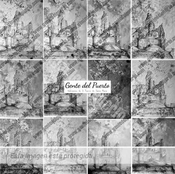 4.358. 14 visiones del Campanario de la Prioral. Por Jesús Suárez