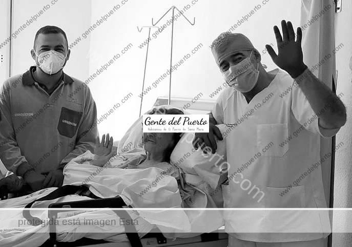 4.340. La Tía Pepa, dada de alta en el Hospital