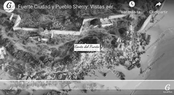 4.372. Fuerte Ciudad y Pueblo Sherry. Vistas Aéreas