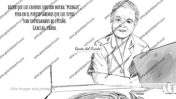 4.368. La viñeta de @elDescosido.A la señora de la sonrisa eterna y el amor a un oficio. Gracias Charo