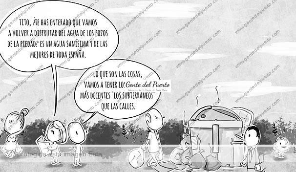 4.376. La viñeta de @elDescosido. Las aguas de la Piedad y las calles