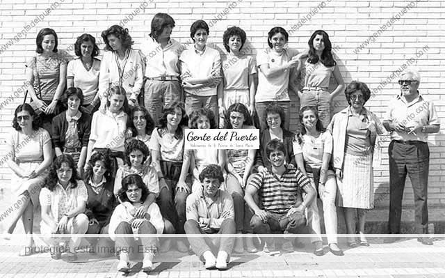 4.389. En el Instituto Muñoz Seca. 3º BUP. Año 1983