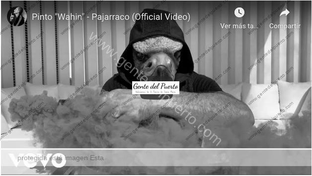 4.365. Pinto Wahin. 'Pajarraco', su nuevo videoclip