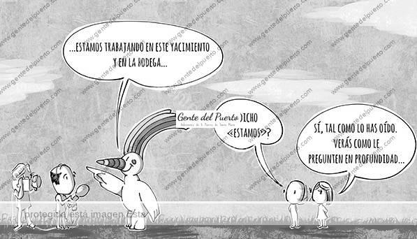 4.404. La Viñeta de @elDescosido. Curro, el yacimiento y la bodega